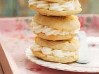 Almond Whoopie Pies with Cream Cheese Filling recipe