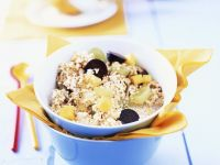 Amarath Breakfast Bowl with Grapes recipe