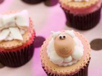 Amusing Sheep Face Muffins recipe