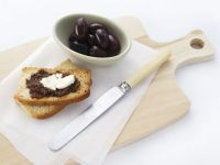 Anchovy and Goats Cheese Toast recipe
