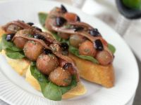 Anchovy and Tomato Toasts recipe