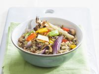 Ancient Grain Veggie Bowl recipe