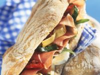 Antipasti Sandwich recipe
