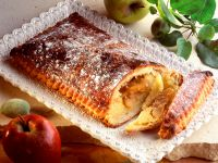 Apple and Almond Covered Pastry recipe