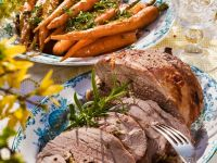Apple and Cheese-stuffed Lamb recipe