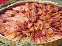 Apple and Cranberry Tart recipe