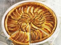 Apple and Orange Flan recipe