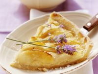 Apple and Pear Tart recipe