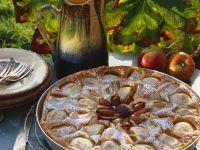Apple and Plum Cake recipe