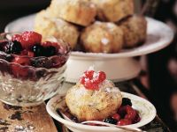 Apple and Poppy Seed Muffins with Berries recipe