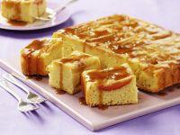 Apple Cake with Caramel Sauce recipe
