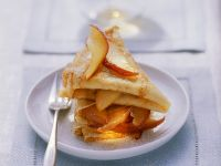 Apple Caramel Calvados Crepes recipe