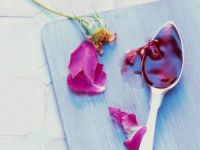 Apple-Cherry Jelly with Rose Syrup recipe