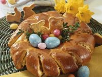 Apple Easter Wreath recipe