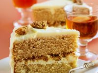 Apple Filled Hazelnut Cake recipe