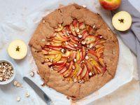 Apple Galette with Hazelnuts recipe