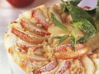 Apple Gratin with Wheat Berries recipe