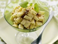 Apple-Hazelnut Salad with Maple Syrup recipe