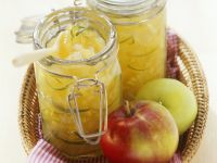 Apple Jam with Pear and Tarragon recipe