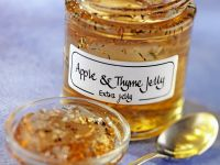 Apple Jelly with Thyme recipe