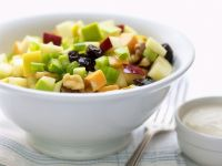 Apple, Melon and Papaya Salad with Celery recipe