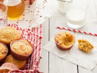 Apple, Nut, and Squash Muffins recipe