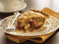 Apple Pie with Walnuts and Raisins recipe
