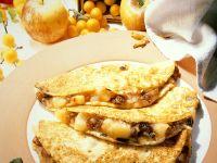 Apple-Raisin Stuffed Crêpes recipe