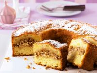 Apple Ring Cake with Nuts recipe