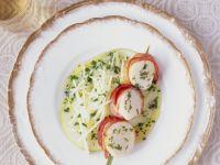 Apple Salad with Scallops recipe