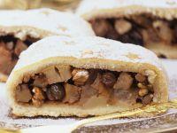 Apple Strudel with Walnuts and Raisins recipe