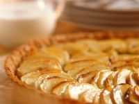 Apple Tart with Apricot Glaze recipe