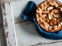 Apple Tart with Spelt Crust and Mascarpone recipe