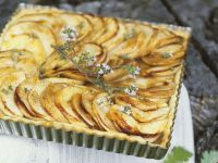 Apple-Thyme Tart recipe
