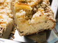 Apple Tray Cake with Crumble Topping recipe