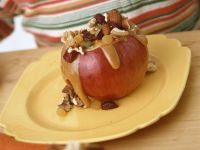 Apples with Nuts and Caramel recipe