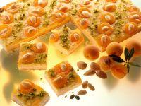 Apricot and Almond Bars recipe