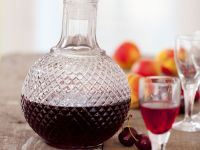 Apricot and Cherry Liqueur