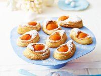 Apricot Custard Vol Au Vent recipe
