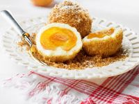 Apricot Dumplings with Sweet Breadcrumbs recipe