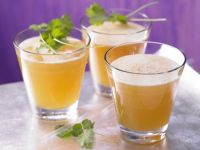 Apricot Ginger Spritzer recipe