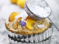 Apricot Tartlets with Lavender recipe