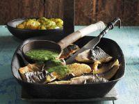 Arctic Char with Sorrel Sauce recipe