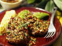 Beef Steak with Chimichurri Sauce recipe