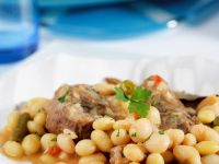 Aromatic Bean and Pork Stew recipe