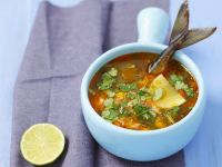Aromatic Broth with Fish recipe