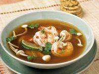 Aromatic Thai Mushroom Broth recipe