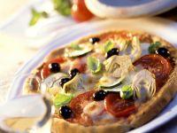 Artichoke, Olive and Zucchini Pizza recipe