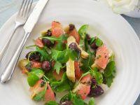 Artichoke Salad with Grapefruit recipe