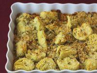 Artichokes Covered in Breadcrumbs recipe
